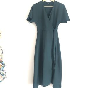 ASOS Deep Emerald Green Dress